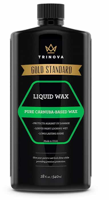 TriNova Liquid Carnauba Car Wax