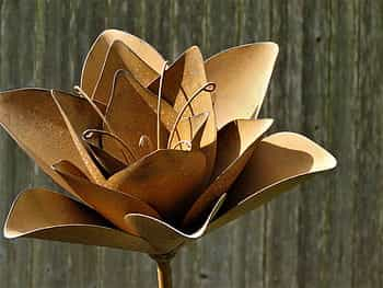 Sheet Metal Flower