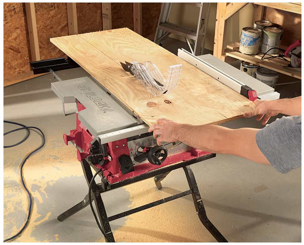 Chicago Electric 10 Inch. 15 Amp Benchtop Table Saw