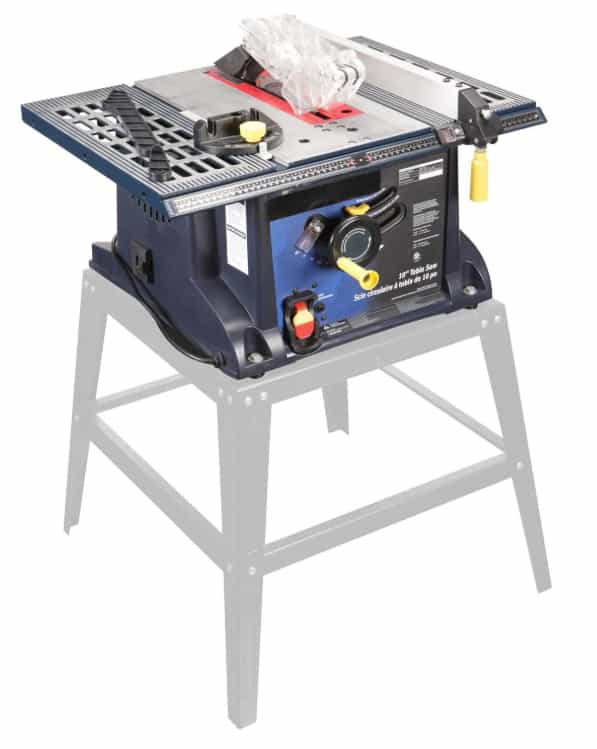 Chicago Electric 10 in.13 Amp Benchtop Table Saw