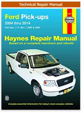 Ford F-150 4 WD & 2 WD Pick-ups Haynes Repair Manual