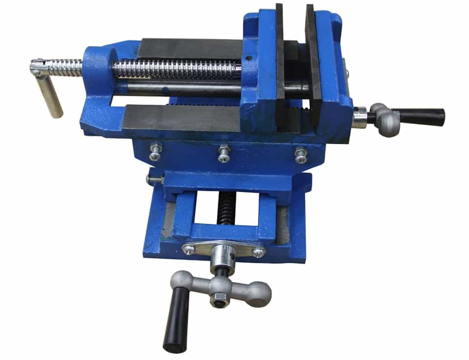 HFS (Tm) 5 inch Cross Slide Vise Drill Press Metal Milling