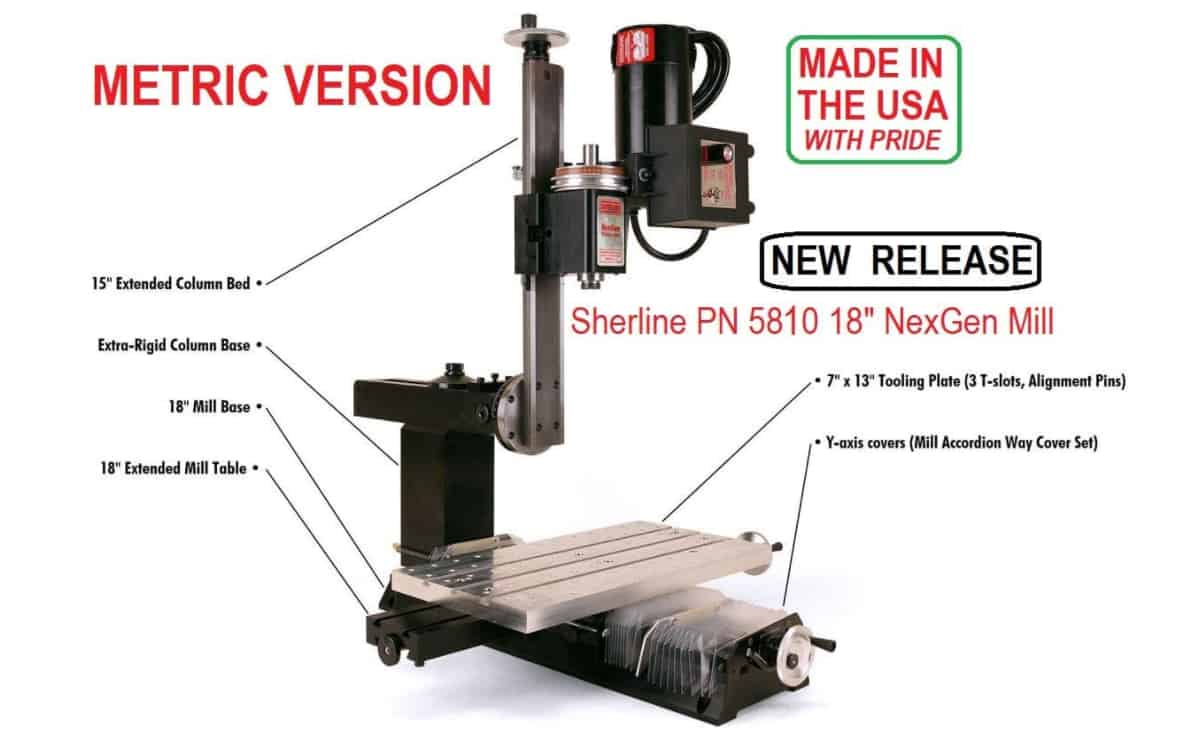 Sherline 5810 Milling Machine